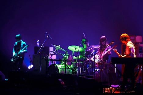 昨日3月25日に行われたKoji Nakamura初ライブの様子。(撮影:太田好治)