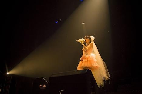 中島愛「Megumi Nakajima FINAL LIVE 『Thank You』」の様子。