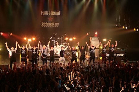 「Root & United SPECIAL」に出演したSCOOBIE DO、怒髪天、RHYMESTER。(撮影:シバタエリ)
