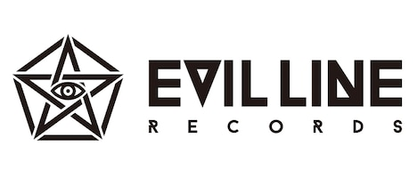 「EVIL LINE RECORDS」ロゴ