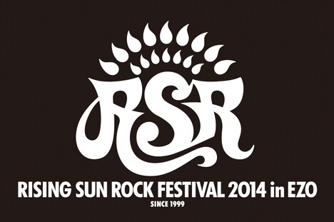 「RISING SUN ROCK FESTIVAL 2014 in EZO」ロゴ