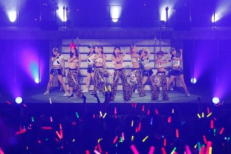 「℃-uteコンサートツアー2014春~℃-uteの本音~」中野サンプラザ夜公演の様子。
