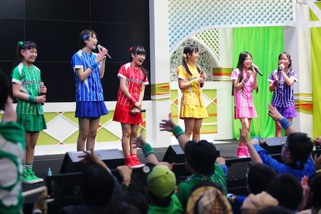 たこやきレインボー「WBCレインボーオープン定例ライブ! Vol.1~甲子園まで、きっちきちやで~」の様子。