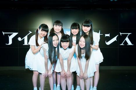 アイドルネッサンス。前列左から百岡古宵、石野理子、南端まいな。後列左から橋本佳奈、宮本茉凛、比嘉奈菜子、新井乃亜。