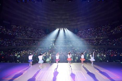 でんぱ組.inc「ワールドワイド☆でんぱツアー2014 in 日本武道館 ~夢で終わらんよっ!~」の様子。