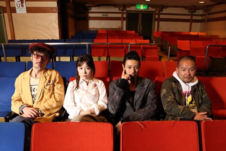 エゴ×大根仁×オダギリジョーが語る「大川端探偵社」の音楽 - 音楽ナタリー