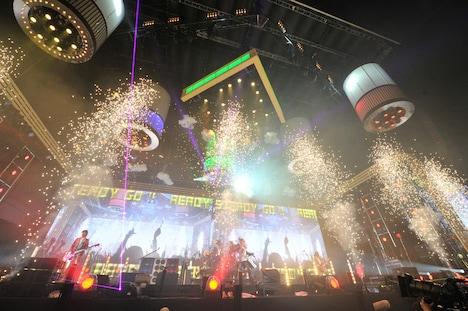 「SAYONARA 国立競技場FINAL WEEK『JAPAN NIGHT』」5月29日公演の様子。