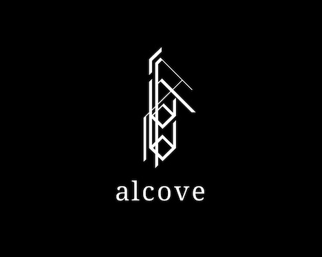 「acid android in an alcove」ロゴ