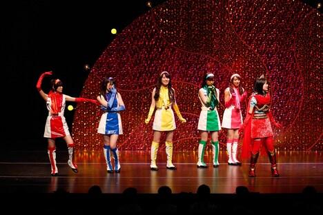 乃木坂46「16人のプリンシパル trois」2幕「レッツゴーっ!ポリン姫」の様子。