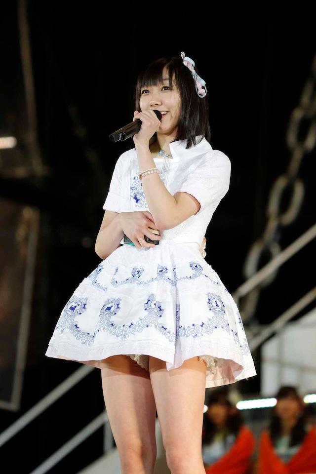 AKB48 37thシングル選抜総選挙第10位の須田亜香里(SKE48チームE)。 (c)AKS
