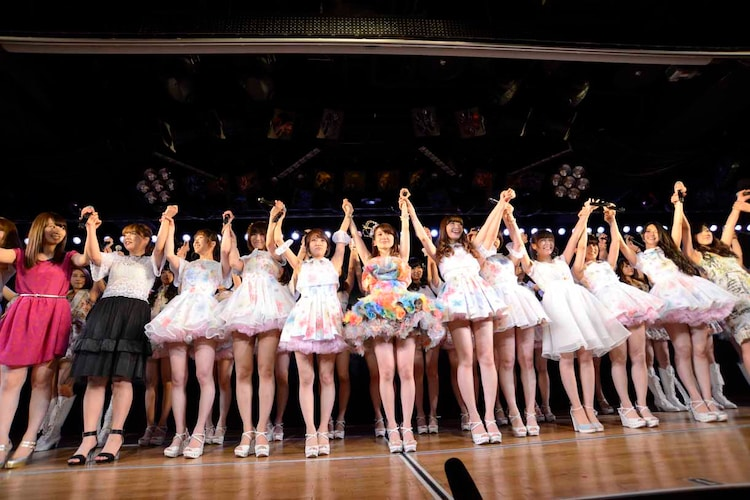 AKB48大島優子卒業公演の様子。 (c)AKS