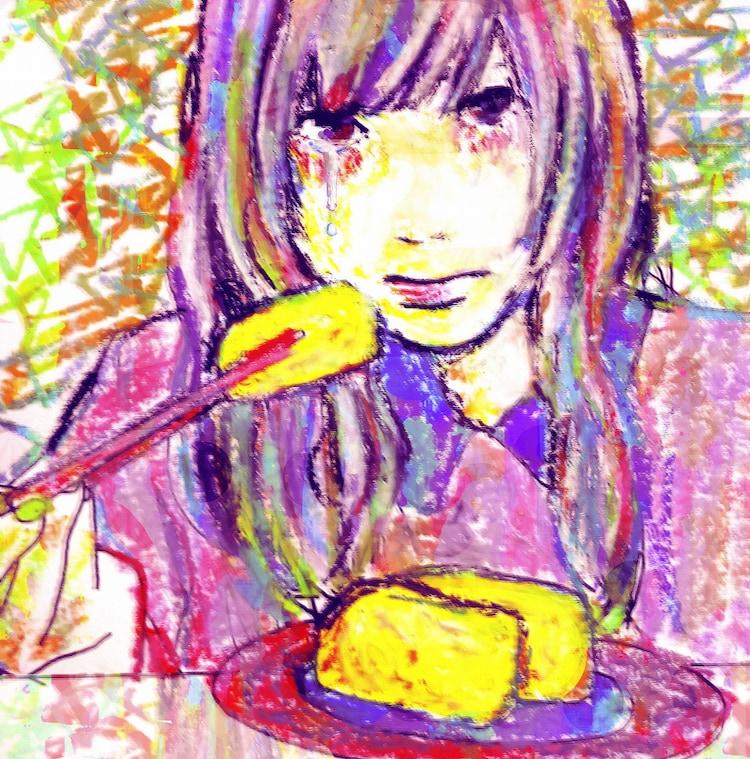 0.8秒と衝撃。「いなり寿司ガールの涙、、、EP」ジャケット