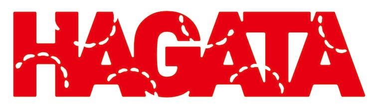 「HAGATA」ロゴ