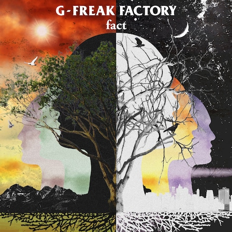 G-FREAK FACTORY「fact」ジャケット