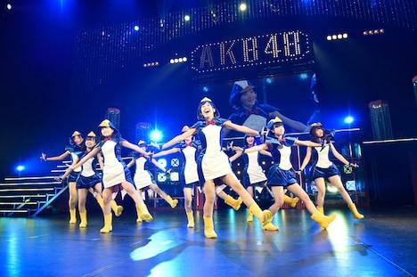 AKB48全国ツアー2014「あなたがいてくれるから。~残り27都道府県で会いましょう~」滋賀・滋賀県立芸術劇場 びわ湖ホール公演の様子。 (c)AKS