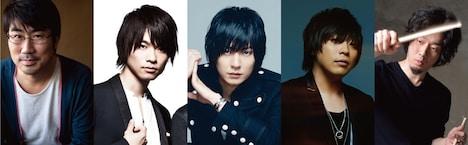 THE TURTLES JAPAN。左から亀田誠治、杉本雄治、山村隆太、阪井一生、玉田豊夢。