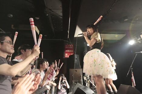 がんばれ!Victory「Victory LIVE 二回の表『次回CDリリースできるかな?大発表会』」の様子。