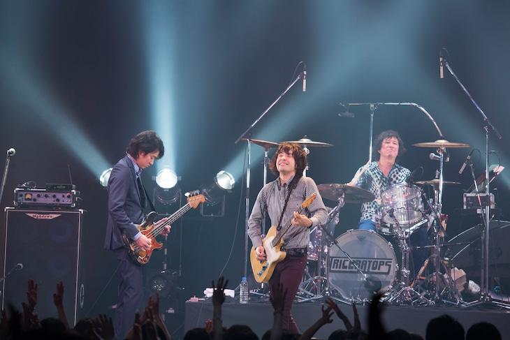TRICERATOPS「LIVE TOUR 2014」東京・Zepp DiverCity TOKYO公演の様子。(撮影:山本倫子)