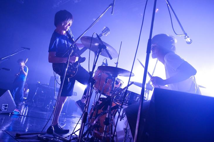 「andymori ワンマン ひこうき雲と夏の音」東京・Zepp Tokyo公演の様子。