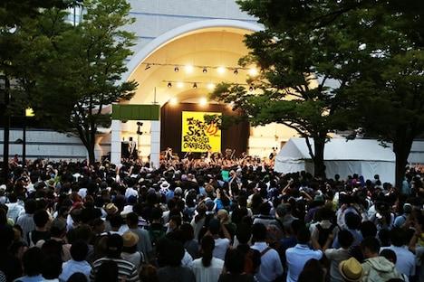 """東京スカパラダイスオーケストラ「東京スカパラダイスオーケストラ presents""""トーキョーフリージャンボリー"""" supported by uP!!!」の様子。"""