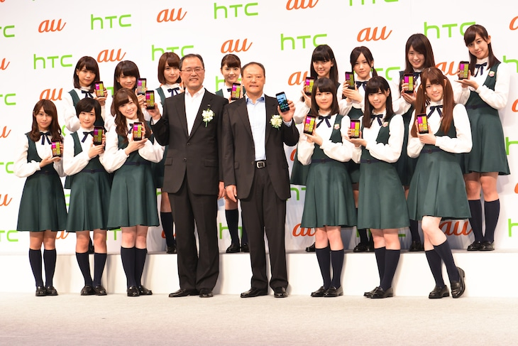 「HTC Conference Tokyo 2014」フォトセッションの様子。