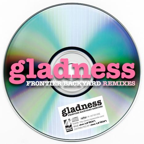 FRONTIER BACKYARD「gladness」ジャケット