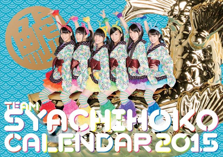 「チームしゃちほこPHOTOカレンダーBOOK 2015」表紙