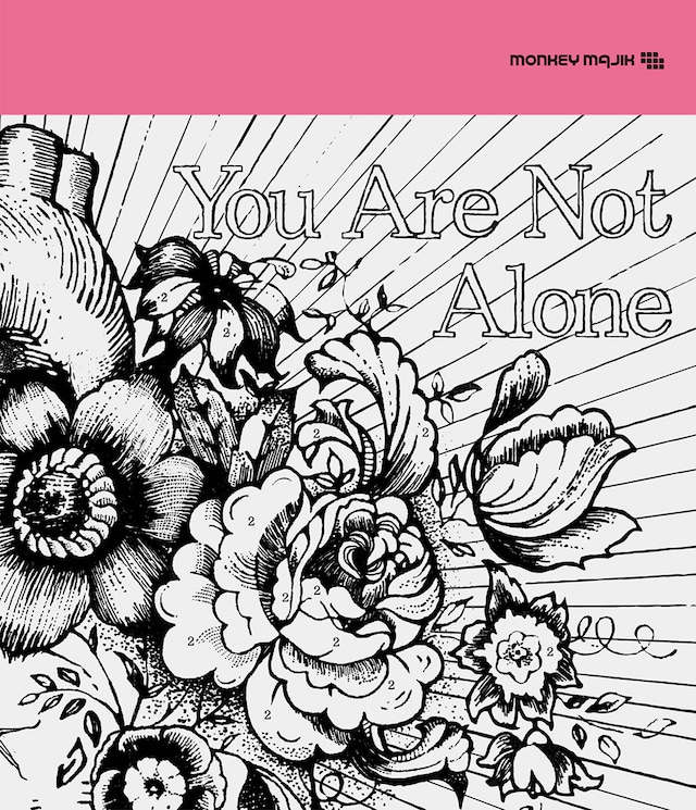 MONKEY MAJIK「You Are Not Alone」CD盤ジャケット