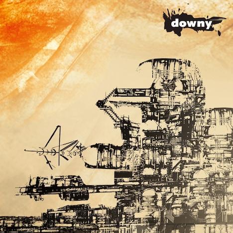 "downy""第4作品集""(無題)再発盤ジャケット"