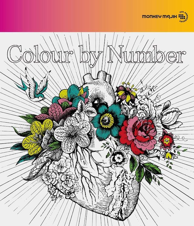 MONKEY MAJIK「Colour by Number」CD+DVD盤ジャケット