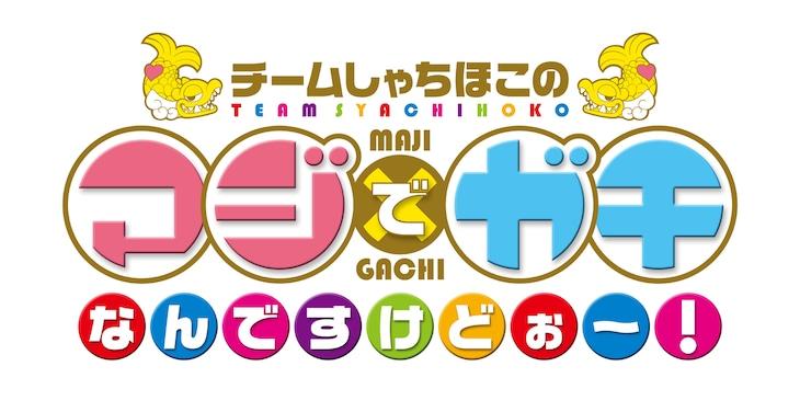 「チームしゃちほこの マジでガチなんですけどぉ~!」ロゴ