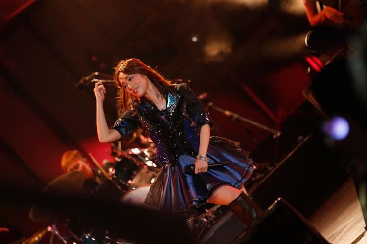 日笠陽子「Le Tour de Couleur」東京・日比谷野外大音楽堂公演の様子。