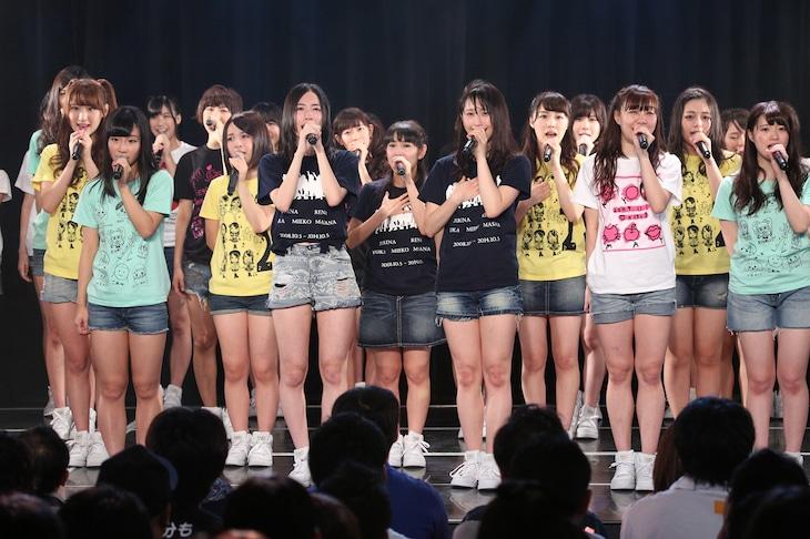 SKE48「劇場デビュー6周年記念特別公演」の様子。 (c)AKS