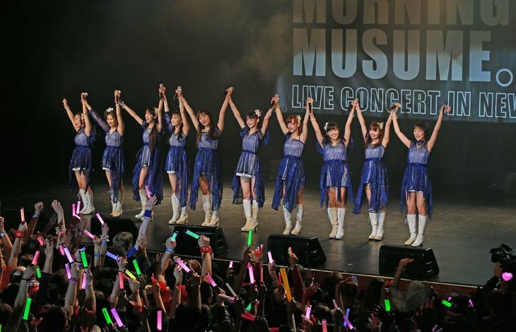 モーニング娘。'14「Morning Musume。'14 Live Concert in New York」の様子。
