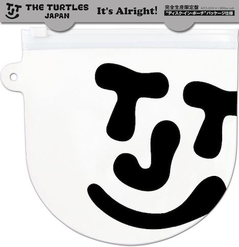 THE TURTLES JAPAN「It's Alright!」パッケージ