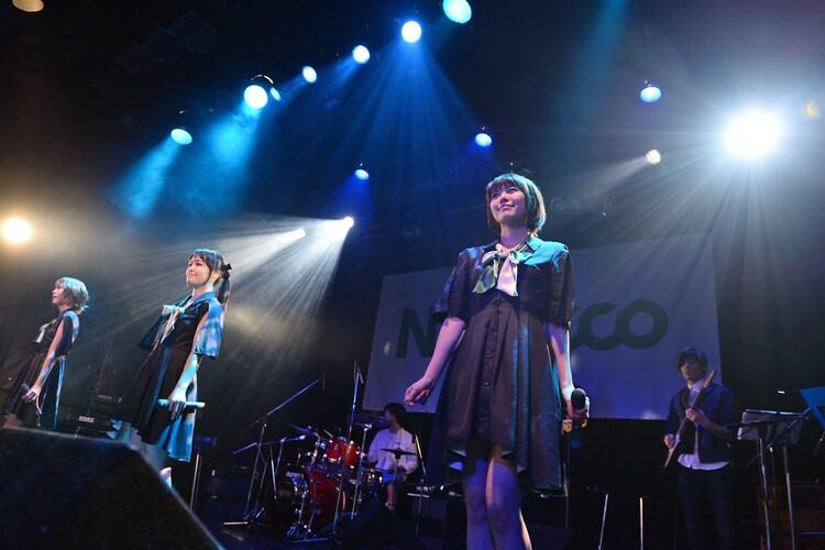 2014年11月「Road of Negiiiiii ~Negicco One Man Show~ 2014 Autumn -Day Two- ~Band Set~」の様子。
