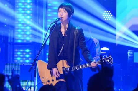 ライブコーナーでの椎名林檎。(c)日本テレビ