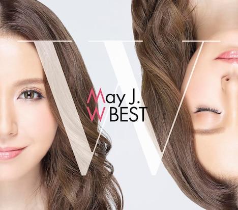 May J.「May J. W BEST -Original & Covers-」ジャケット