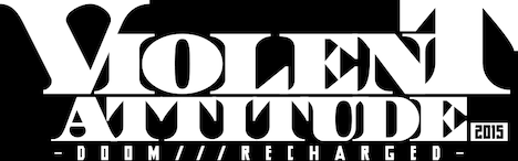 「VIOLENT ATTITUDE 2015 -DOOM///RECHARGED-」ロゴ