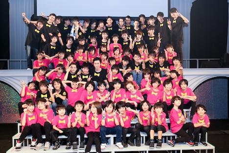 EBiDAN 39 & KiDS「星男祭2014」終了後の記念写真。