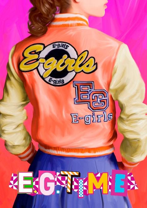 E-girls「E.G. TIME」Type 1、2ジャケット
