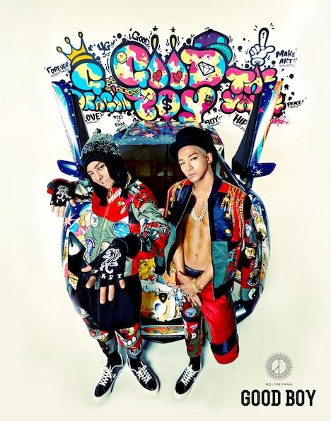 GD X TAEYANG(from BIGBANG)「GOOD BOY」配信ジャケット