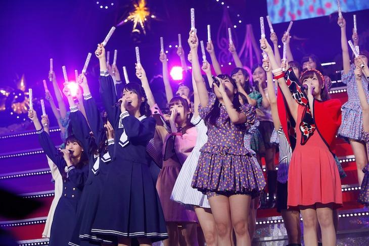 乃木坂46「Merry X'mas Show 2014」12月14日1回目公演の様子。