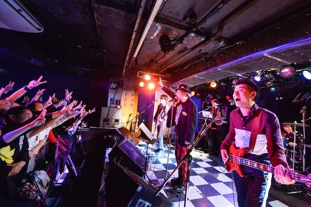 後期「有頂天」セッション(Photo by AZUSA TAKADA)