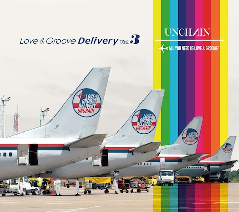 UNCHAIN「Love & Groove Delivery Vol.3」ジャケット