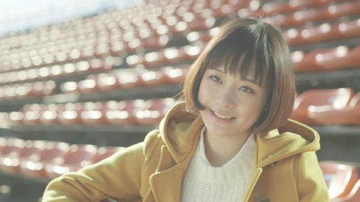 大原櫻子「瞳」ビデオクリップのワンシーン。