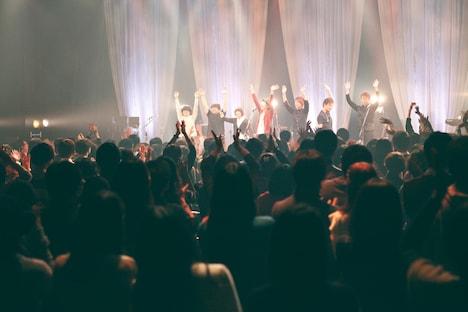 12月21日に開催された「.ANSWER.」の様子。(Photo by Takumi Yamamoto)