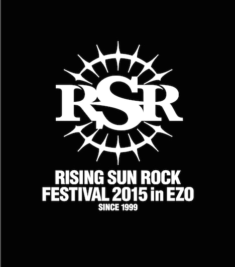 「RISING SUN ROCK FESTIVAL 2015 in EZO」ロゴ