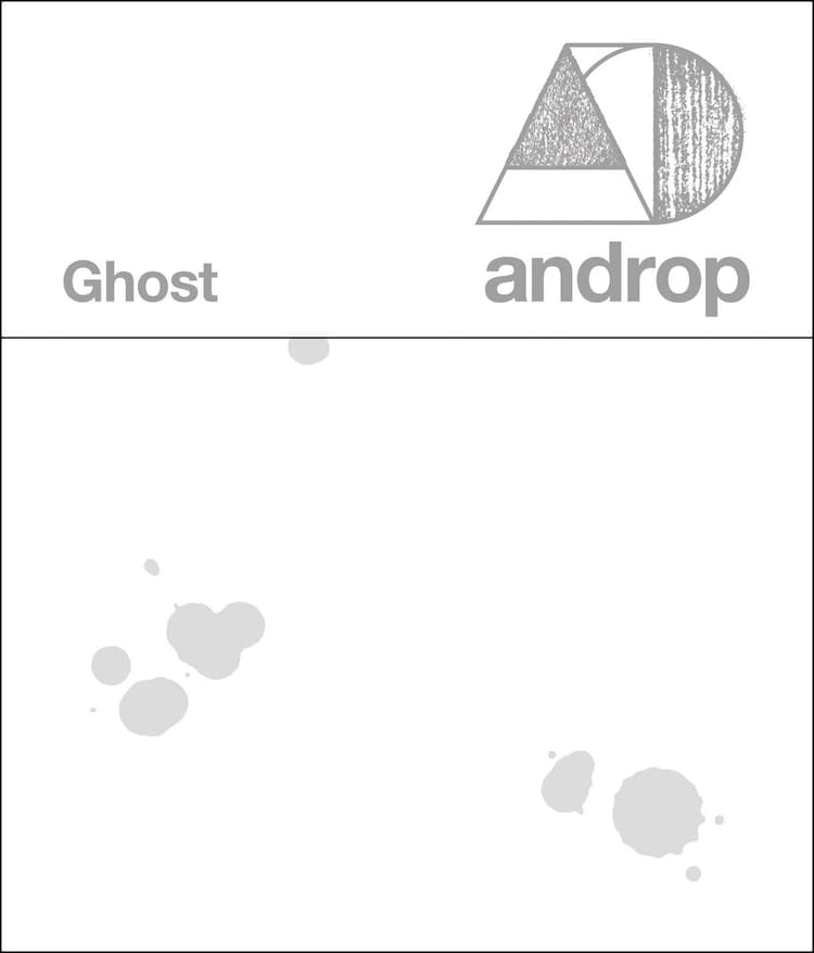 androp「Ghost」ジャケット
