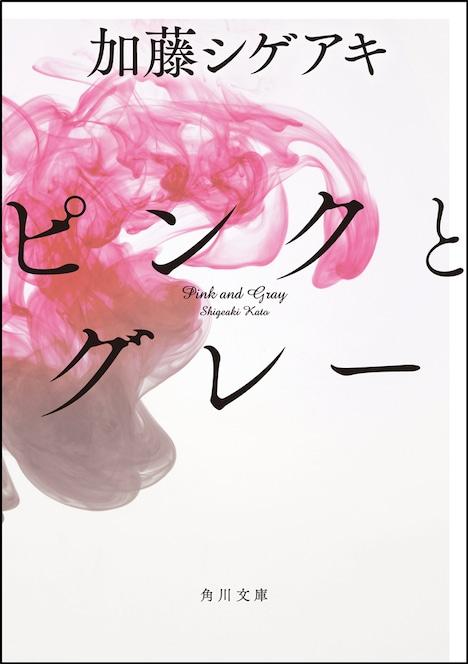 加藤シゲアキ「ピンクとグレー」文庫版表紙 (c)2015「ピンクとグレー」製作委員会